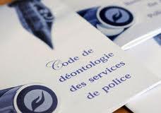 Code de déontologie de la police en France