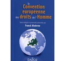 Convention de sauvegarde des droits de l'homme et des libertés fondamentales – articles 9, 10 et 14