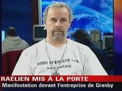 Le Raëlien Jean-François Bergeron gagne au Tribunal du Travail, mais Transformateur Delta abolit son poste