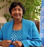 Navi Pillay – Haute commissaire aux Droits de l'Homme de l'ONU
