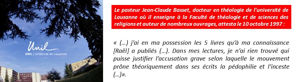 Le pasteur Jean-Claude Basset