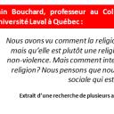 Alain Bouchard, sociologist