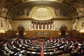 Manifestation silencieuse des Raëliens, le 10 janvier devant le Sénat, en réponse au texte accordant l'immunité à la MIVILUDES
